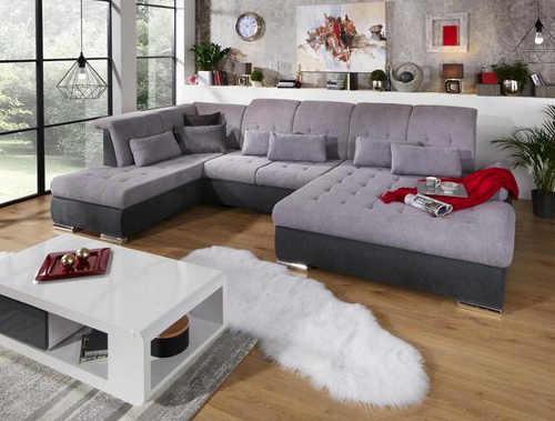 Účková sedací souprava do velkého obývacího pokoje