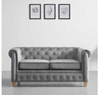 Luxusní pohovka v šedém provedení