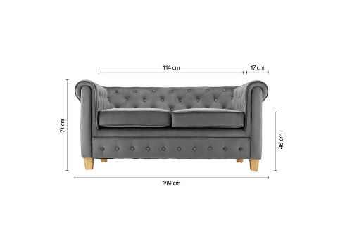 Šedá pohovka pro poholdné sezení a odpočinek