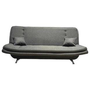Luxusní pohovka loďka v šedém dekoru