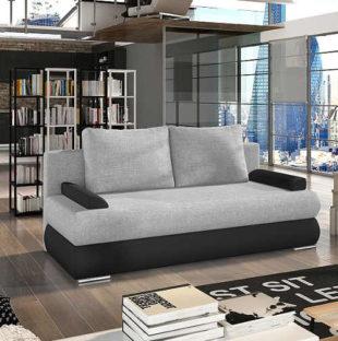 Moderní rozkládací sofa v módních barvách