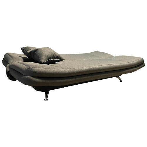 interesantní čalouněná pohovka ve tvaru loďky