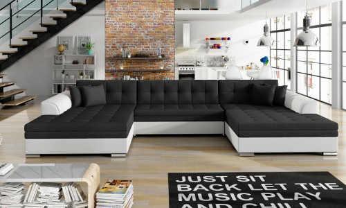 moderní velká sedačka do obýváku