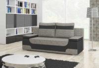 Rozkládací sofa s praktickým úložným místem