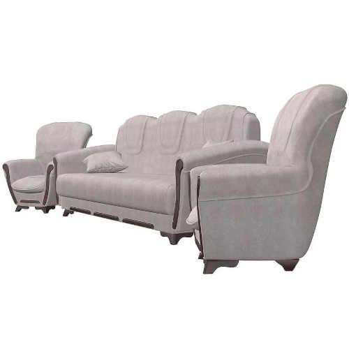 béžová sedací souprava s křesly