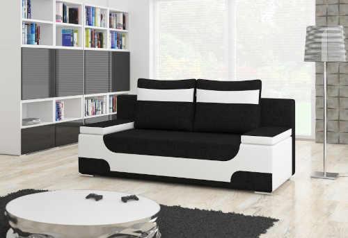 moderní sofa v různých barvách