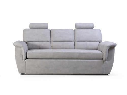 Moderní komfortní šedá rozkládací pohovka