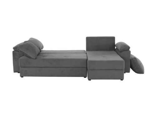 čalouněná šedá sedačka Dalas