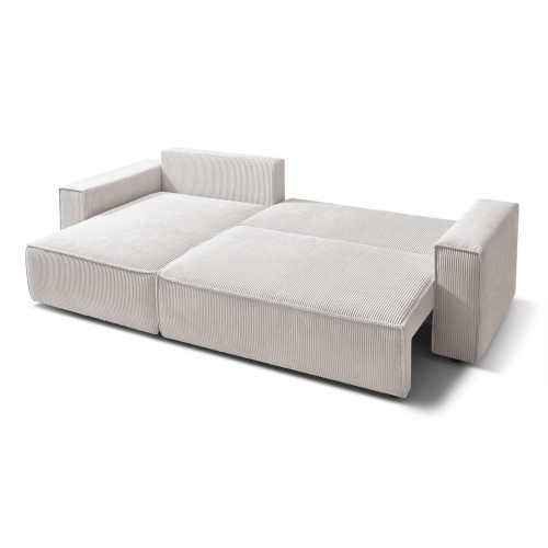 manšestrová sedačka v elegantním designu
