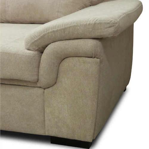 béžová sedací souprava do obýváku