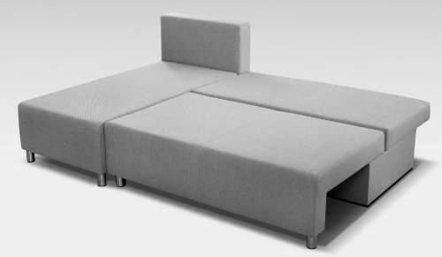 Luxusní ložná plocha 130 x 200 cm po rozložení sedačky