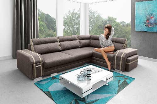 prostorná komfortní sedačka rozkládací