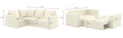klasická rohová sedačka rozkládací