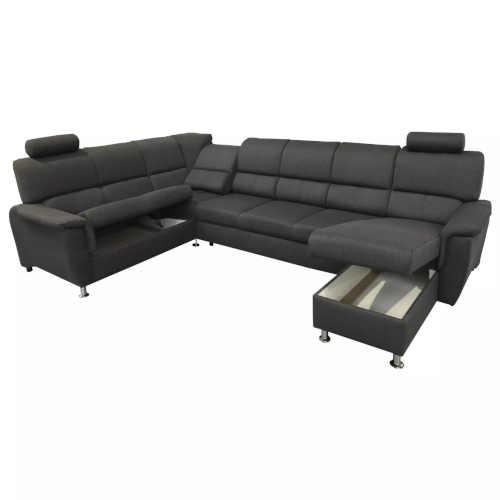 luxusní prostorná sedací souprava