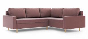 Rohová rozkládací sedací souprava BELLIS II v trendy barvách