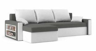 Rozkládací sedací rohová souprava Drive do menšího moderního obývacího pokoje
