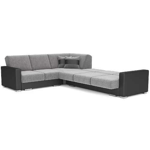 prostorná sedačka šedá baumax