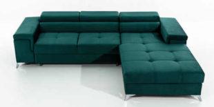 Rohová sedací souprava s úložným prostorem